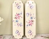 Pair of vintage ceramic d...
