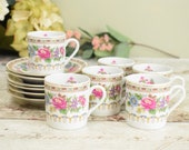 Vintage coffee cups and s...