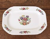 Cream vintage Spode serving or sandwich plate.