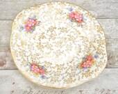 Floral chintz design vint...