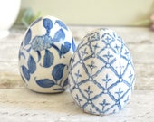 Vintage pair of porcelain...