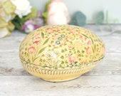 Vintage egg shaped trinke...