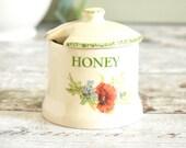 small vintage honey pot w...