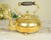 Brass vintage teapot or k...