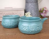 Set of two soup bowls or ...
