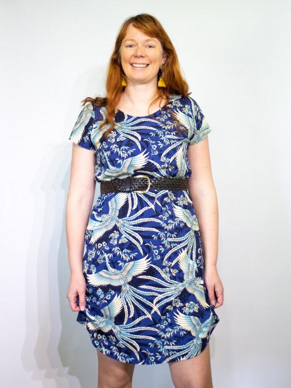 The Ziggy dress in navy freebird