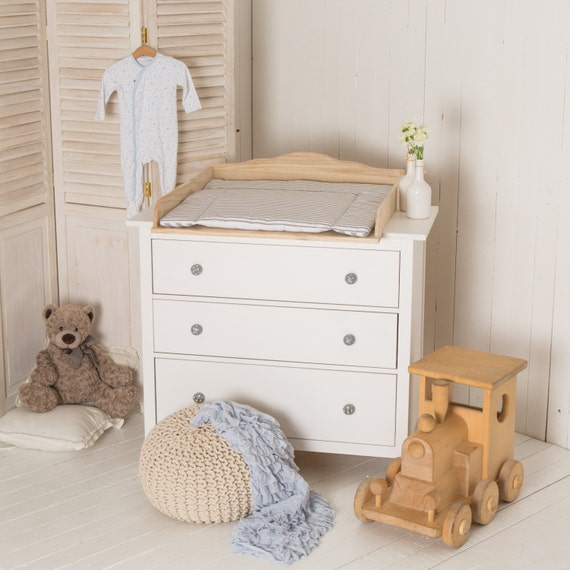 best sneakers d0dbe 6c1b9 Puckdaddy Natural wood! Changing unit, table top, Cot Top for IKEA Malm  chest of drawers (Without dresser)