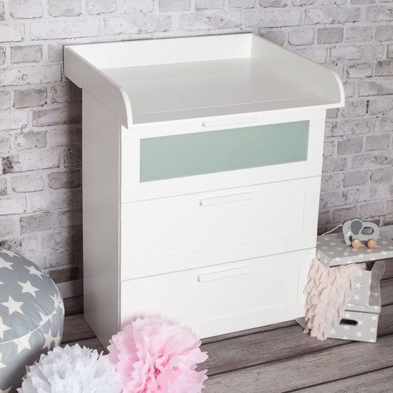Super Puckdaddy Xs Extraround Changing Table Top For Ikea Brimnes Dresser Home Interior And Landscaping Fragforummapetitesourisinfo