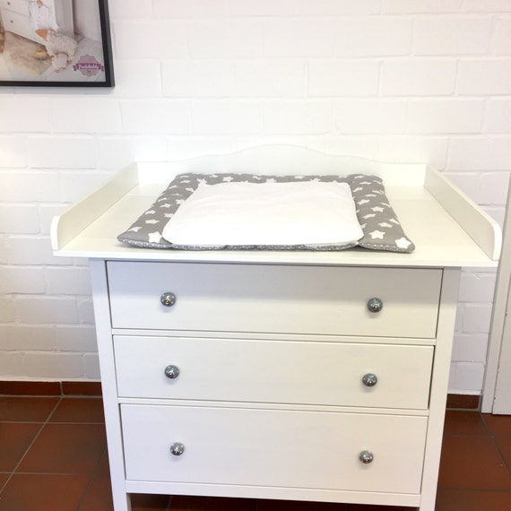 Puckdaddy Xxl Cloud Changing Table Top For Ikea Hemnes Dresser