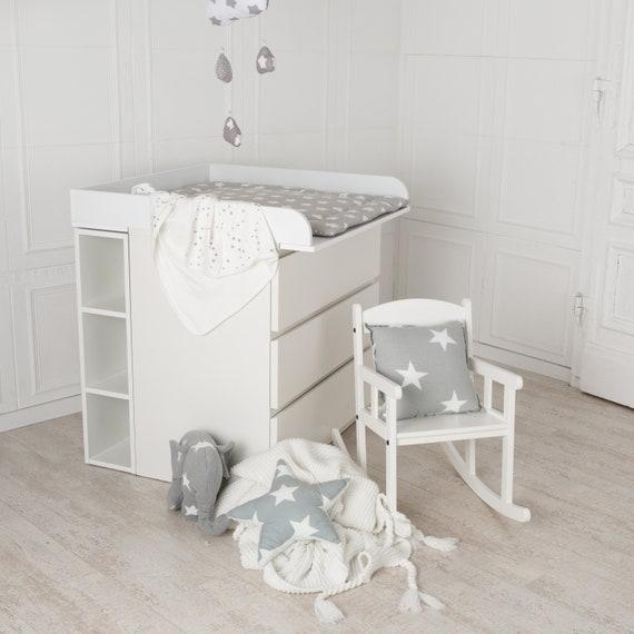 Puckdaddy Stauraumregal für IKEA Malm Kommode