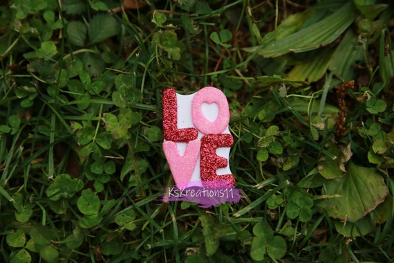 Clay Center Bow Center Broken Heart Heart Breaker Name Plate Clay- Flat Back Made to Order Customized Love Valentine/'s Day