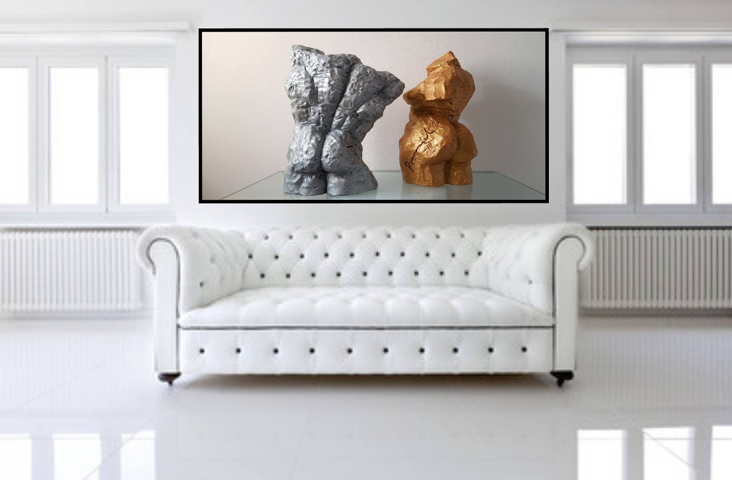 sculpture wall art for living room