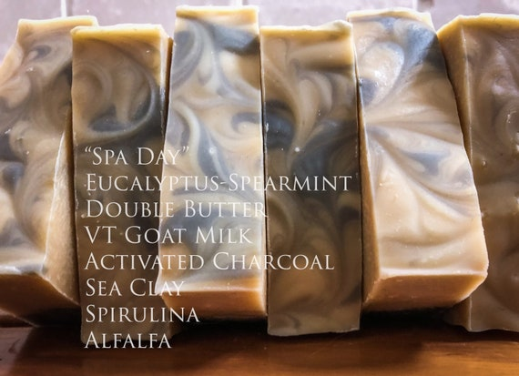 Spa Day Double Butter VT Goat Milk Soap