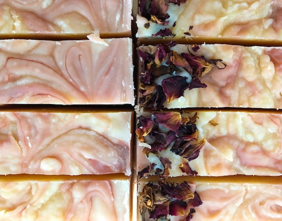 Rose Double Butter VT Oat Milk Soap
