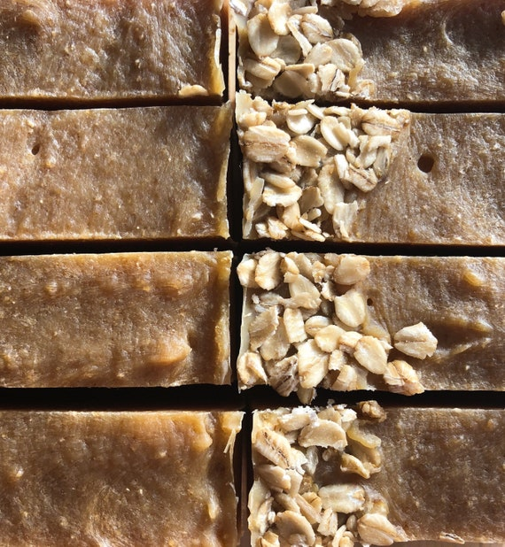 Spiced Oatmeal Stout Beer Handcrafted Artisan Soap
