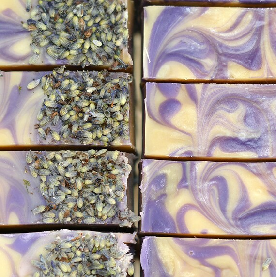 Lavender Double Butter VT Goats Milk Handcrafted Artisan Soap