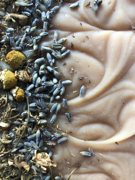 Lavender Chamomile Double Butter Oat Milk Soap