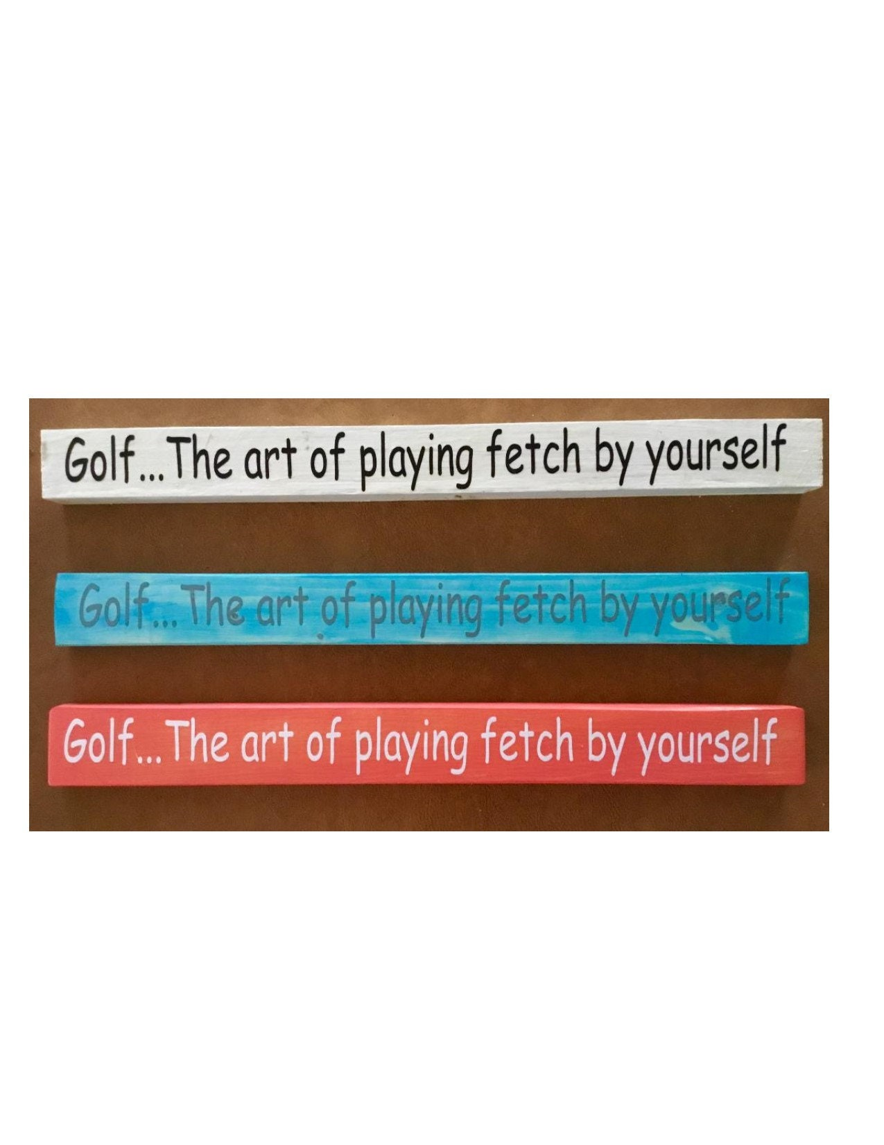 Funny Golf Rustic Farmhouse Home Decor Sign // Custom Wooden Signs // Cute  Funny Wooden Plaques