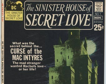 The Sinister House of SECRET LOVE #1 - Scarce copy!