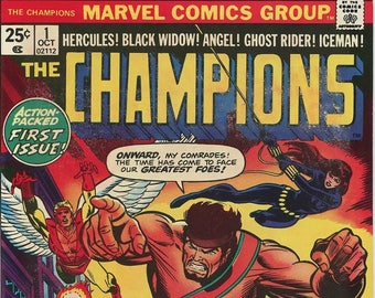 THE CHAMPIONS #1 - First Issue Spectacular! Origin issue!
