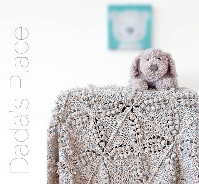 PATRÓN de ganchillo / manta bosque noruego / manta patrón | Etsy