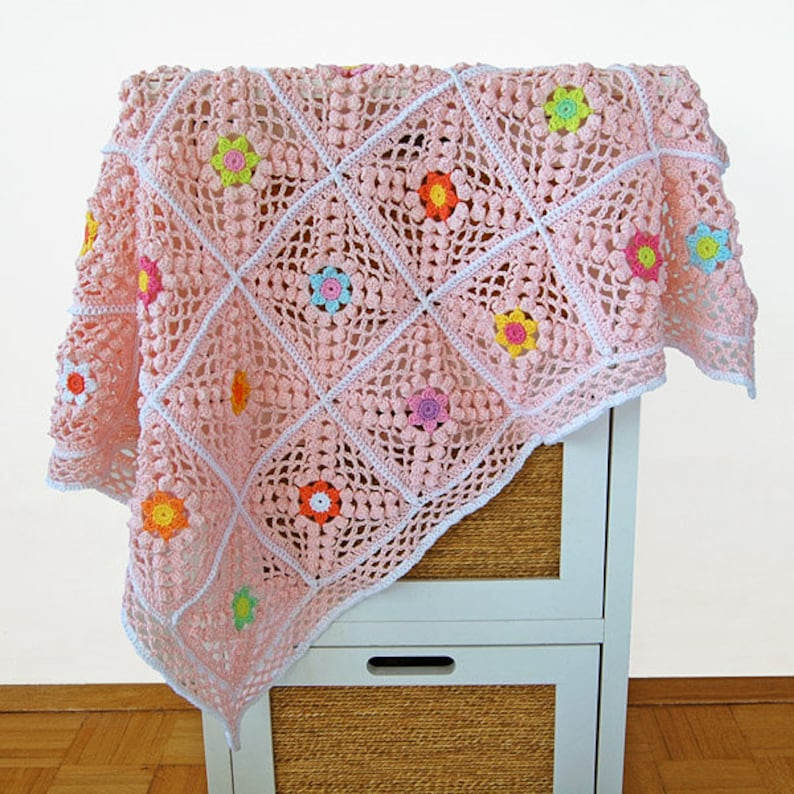 aac94d0b2f170 CROCHET PATTERN: Lazy Sunny Day Blanket/Newborn blanket pattern/Crochet PDF  tutorial/Crochet blanket pattern tutorial/Afghan pattern
