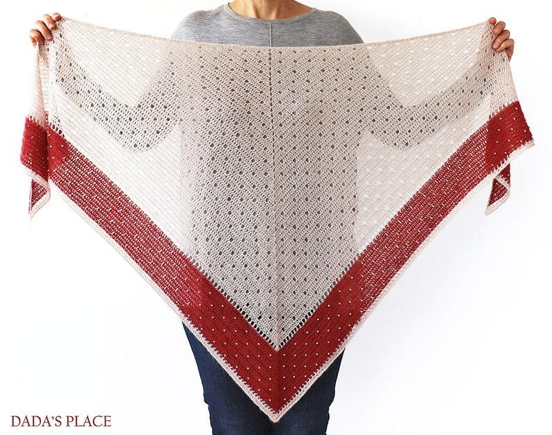 CROCHET PATTERN: Delicate Shawl/Crochet Shawl With image 0