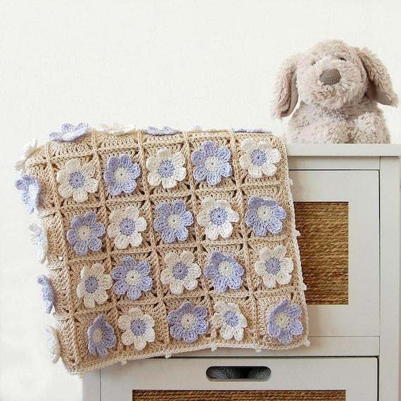 Gehäkelte Decke PDF/Neugeborenen Decke Muster/häkeln | Etsy