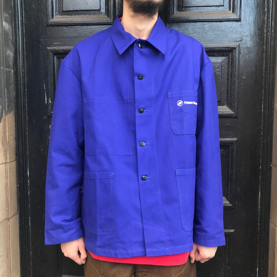 XL Dark Blue French Workwear Telecom Jacket