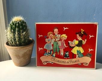 Chocolat Poulain Chansons de France Song Book Vignettes