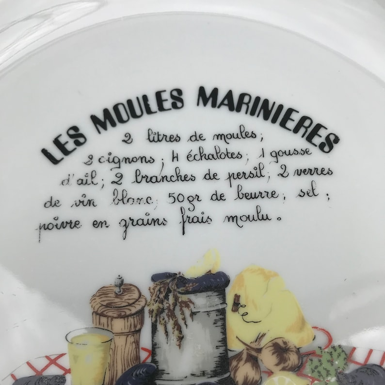 Two Moules Marini\u00e8res Mussels Plates by Schumann Arzberg Bavaria