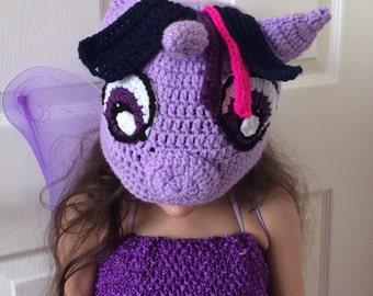 Twilight Sparkle hat, My Little Pony hat, beanie