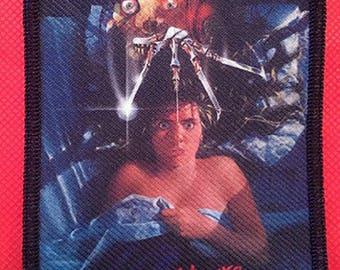 "Nightmare on Elm Street Horror Movie Poster 4.5 x 3"" Patch Freddy Krueger"