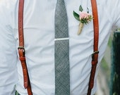 Leather Suspenders · Wedding Suspenders · Men's & Women's Suspenders · The Perfect Gift for Any Occasion · Indiana LS Brown