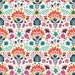 Faith Shearer reviewed Efflorescent Vivid,  Lugu by Jessica Swift, Art Gallery Fabric, Green Pink and Blue Floral Yardage, LGU-67105