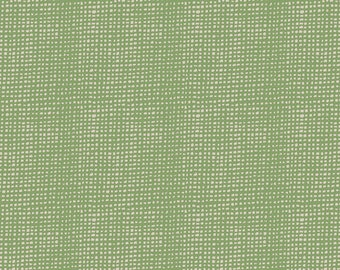 REMNANT: Plain Weave Thatch Green - Bountiful by Sharon Holland for Art Gallery Fabric, Green Quilting Fabric, AGF Cotton