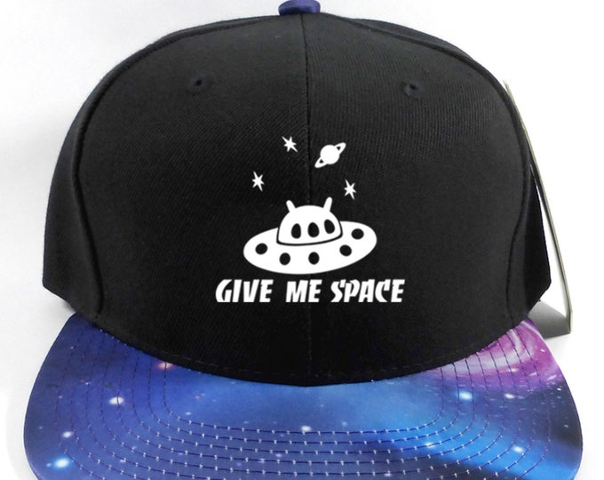 Featured listing image: Give Me Space Galaxy Snapback Adult Hat