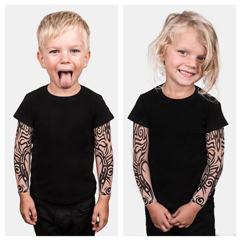 Tribal Tattoo Baby Tshirt Kids Clothing Halloween Costume Etsy