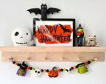 Halloween Garland - Felt Bunting