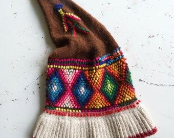 1b436c993f7 Vintage Peruvian Chullo Hat