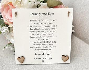 Verwonderend Moeder van de bruidegom gedicht | Etsy TI-33