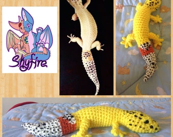 Plush Leopard Gecko made to order