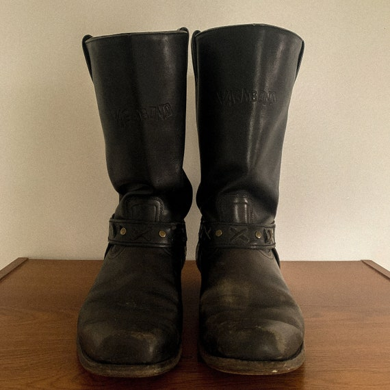 Vintage Vagabond Motorcycle Boots