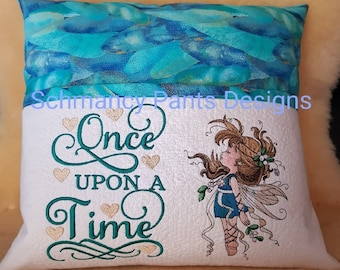 Fairy wing Storybook Reading Pillow