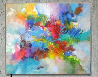 Modern Art Abstract Painting, Original Painting Canvas Art, Abstract Painting Canvas Art, Living Room Art, Large Abstract Painting original