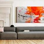 Original abstract acrylic painting, Large wall art canvas, Modern Art Abstract Painting, Acrylic painting on Canvas, Original art