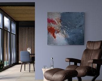 Gabi Ger Abstract Acrylic Colorful Canvas Paintings Door Gabigerart