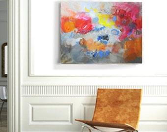 Charmant Wandkunst Auf Leinwand Abstrakte Acrylmalerei Große Wand Kunst Leinwand  Moderne Kunst Abstrakte Malerei Original Kunstwerk Wohnzimmer