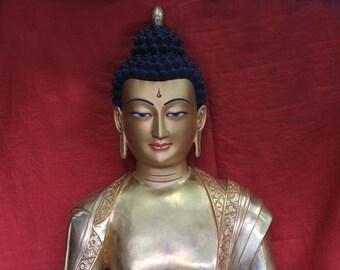 Big Buddha Statue Online- Golden Shakyamuni-most Handsome Buddha In The World.