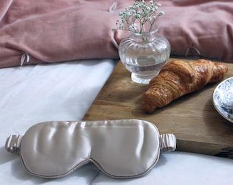 Luxury Silk Eye Mask | Mulberry Silk | Gift | Silky &  Soft | Sleep well